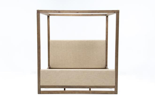 Nelson Eastern King Canopy Bed - 360