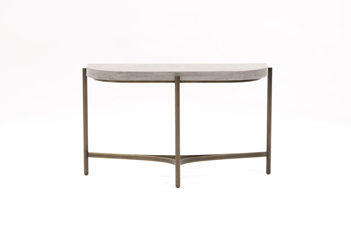 Stratus sofa table living spaces for Living spaces sofa table