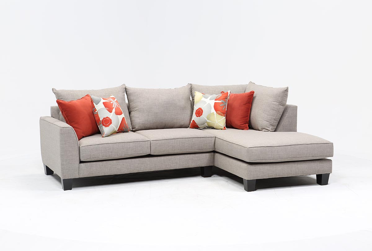 Kira 2 Piece Sectional W/Raf Chaise   360