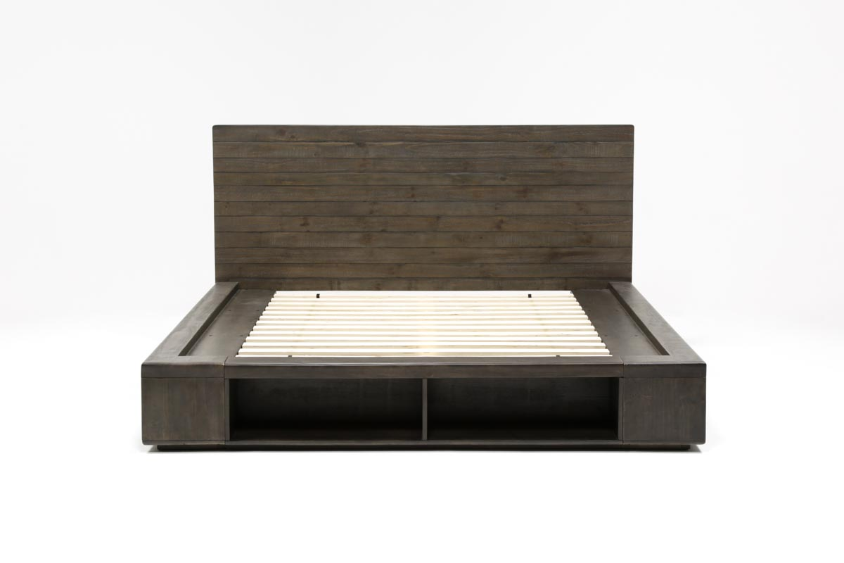 Dylan Full Platform Bed 360