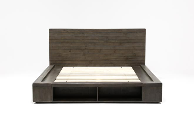 Dylan Queen Platform Bed - 360