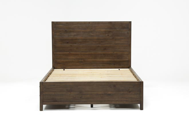 Rowan Queen Panel Bed W/Storage - 360