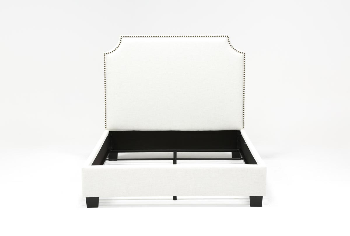 Sophia Queen Upholstered Platform Bed   360
