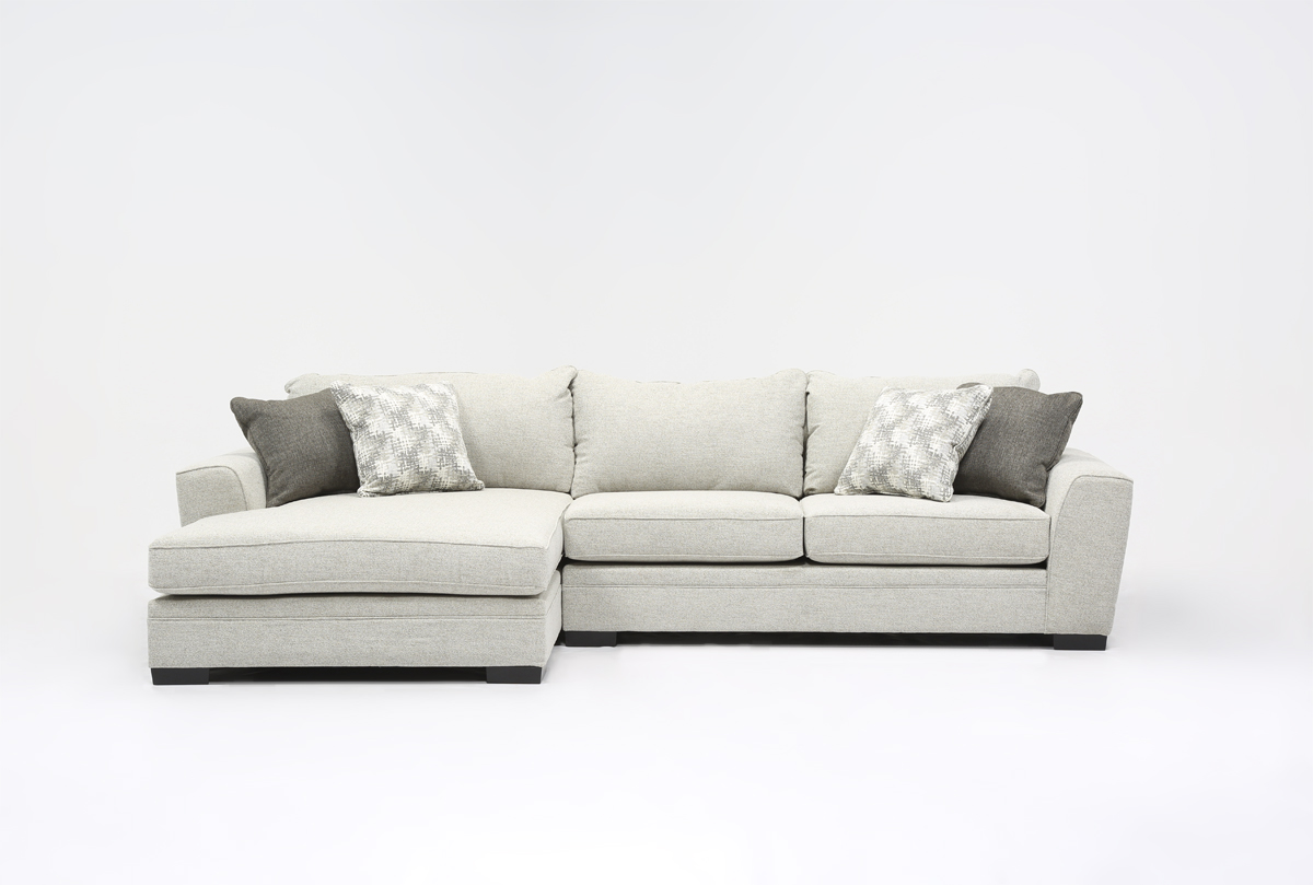 Delano 2 Piece Sectional W Laf Oversized Chaise 360