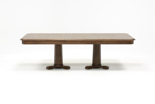 Belmont Extension Pedestal Dining Table - 360