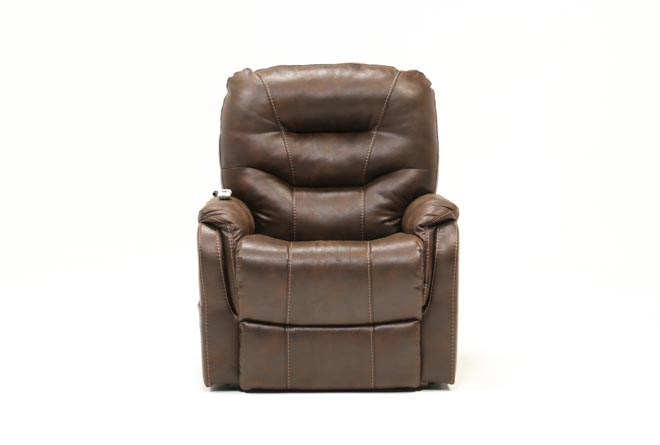 Brantly Walnut Power-Lift Chair - 360