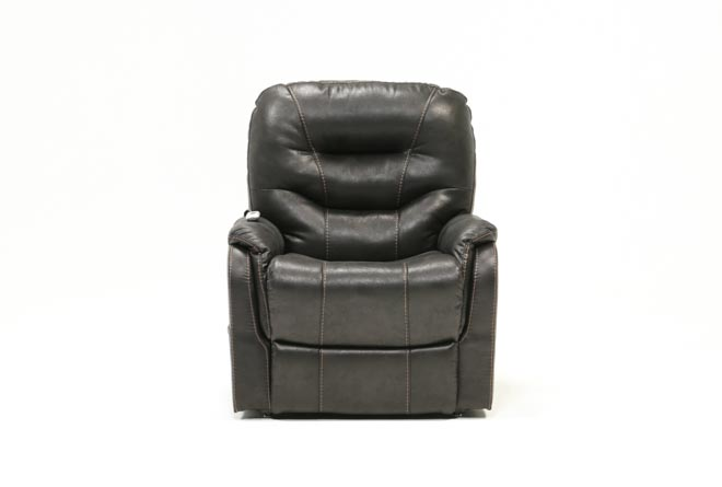Brantly Black Power-Lift Chair - 360