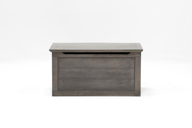 Owen Grey Toy Chest - 360