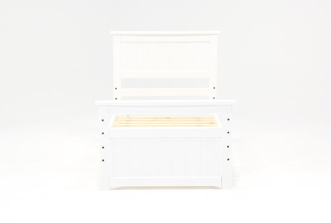Summit White Twin Panel Bed - 360