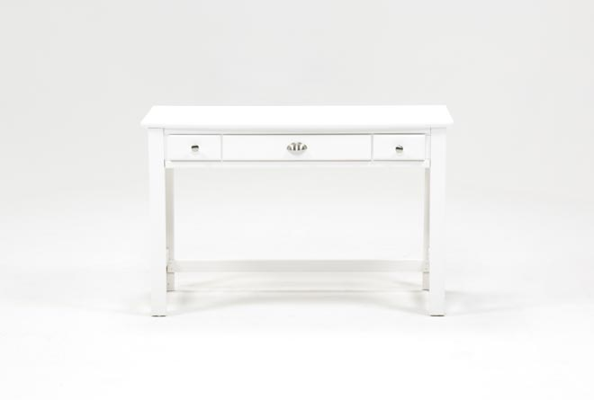 Summit White Desk - 360