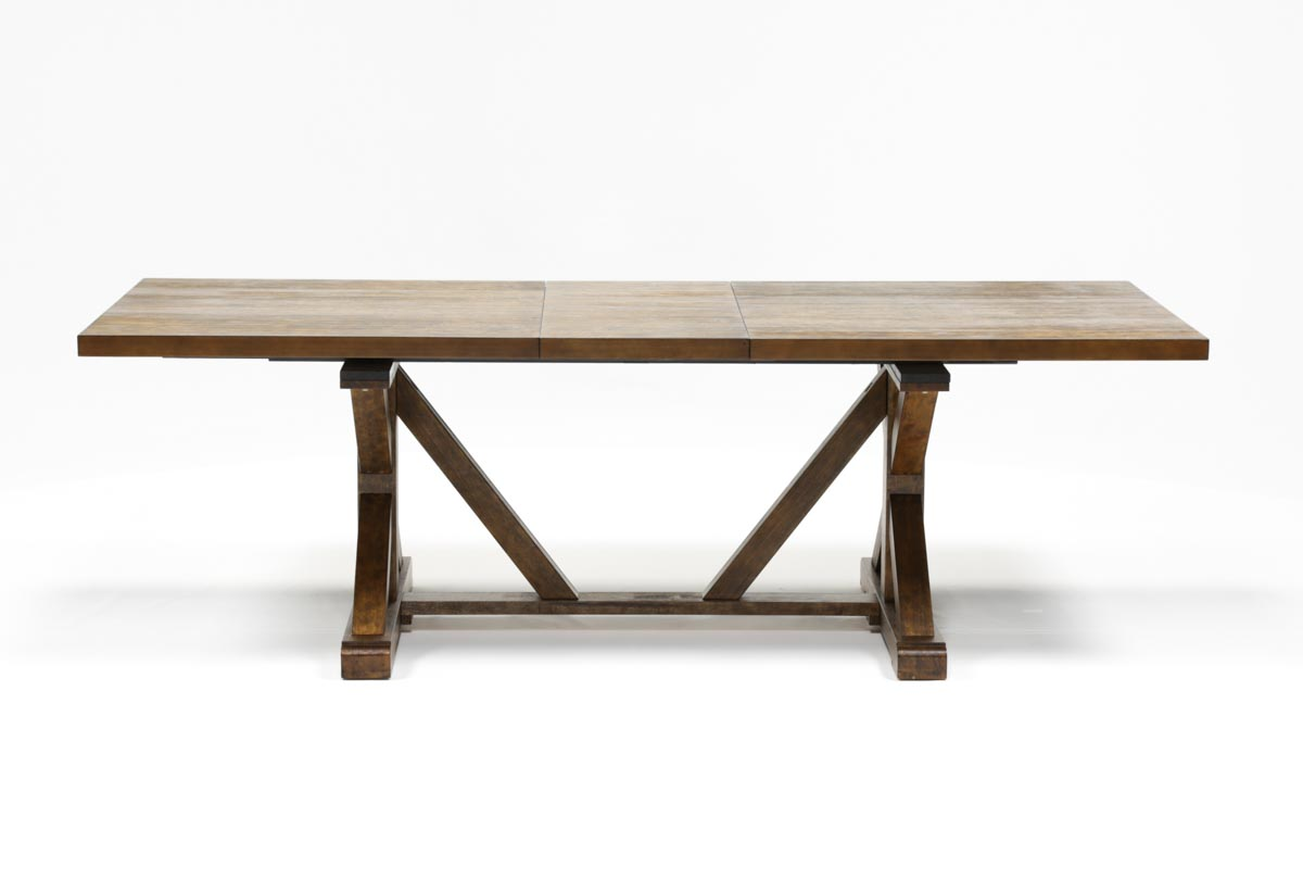 chandler extension dining table 360 - Extension Dining Table