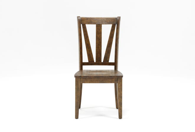 Chandler Wood Side Chair - 360
