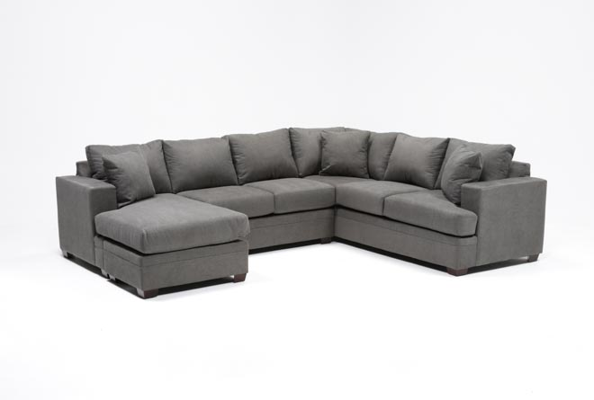 Kerri 2 Piece Sectional W/Laf Chaise - 360