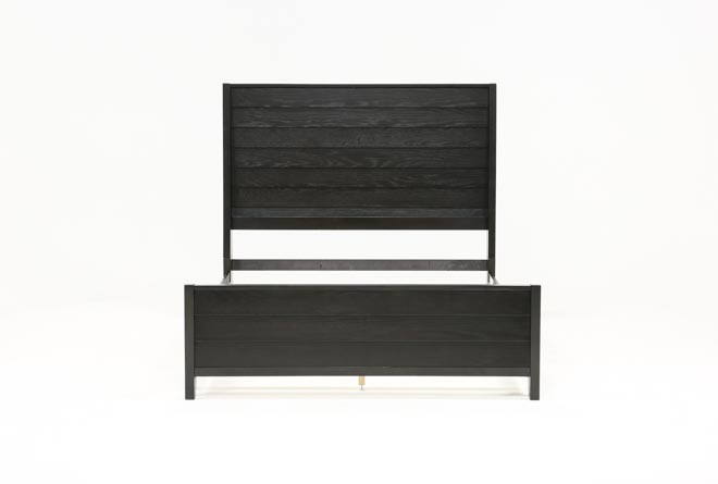 Keane Charcoal Full Panel Bed - 360