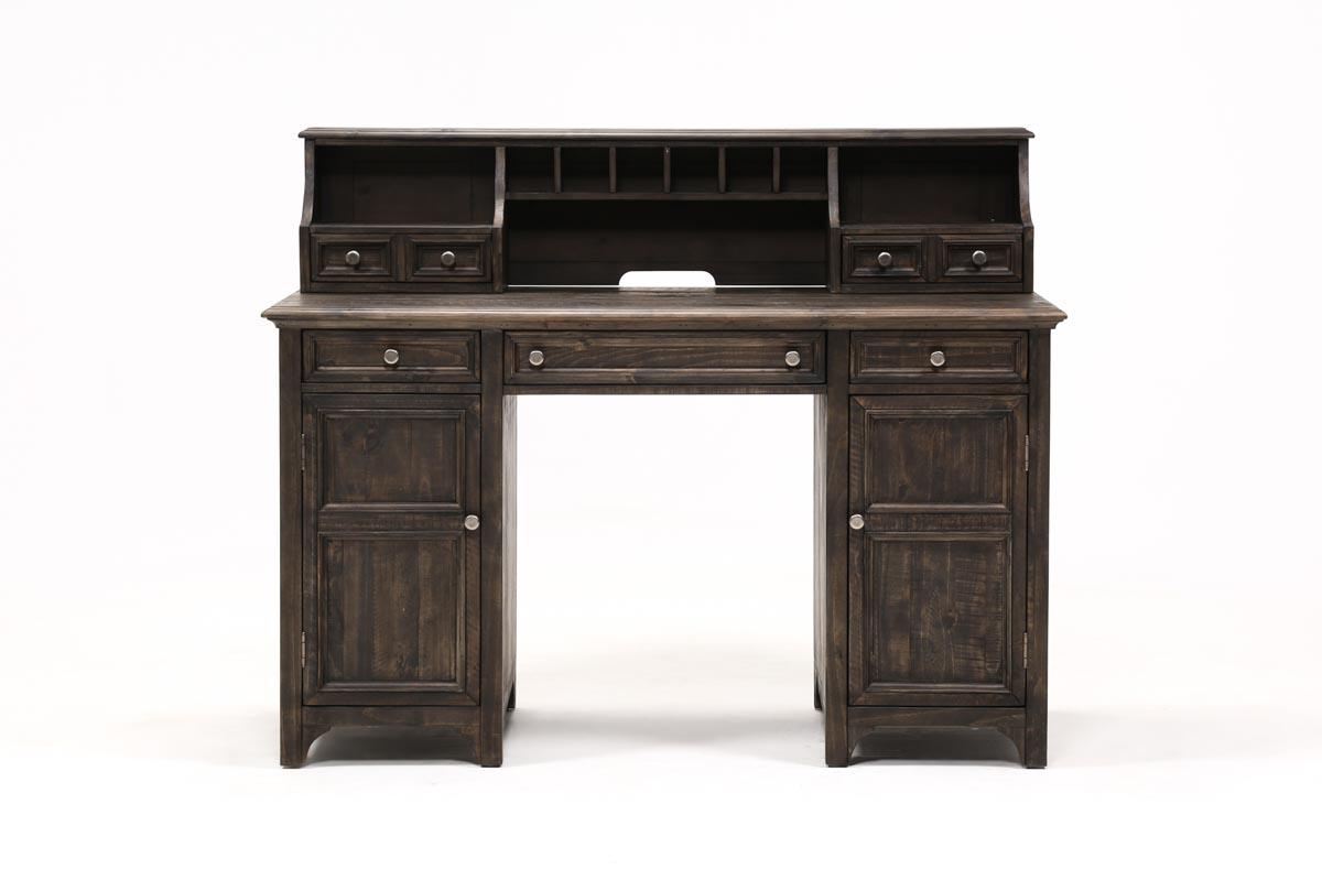 Valencia Counter Desk With Hutch 360