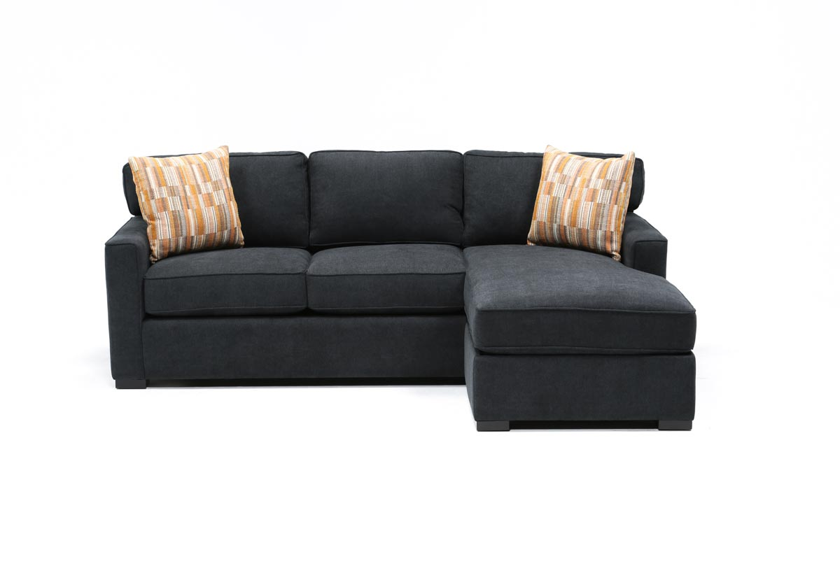 Taren Reversible Sofa Chaise Sleeper W Storage Ottoman Living Spaces