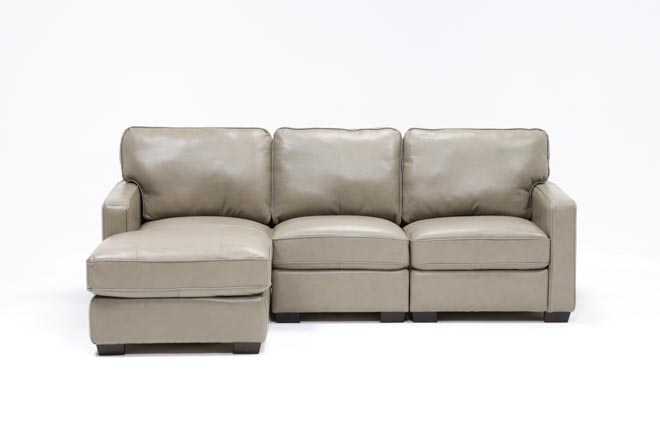 Redford Mushroom 3 Piece Left Facing Chaise Sectional - 360