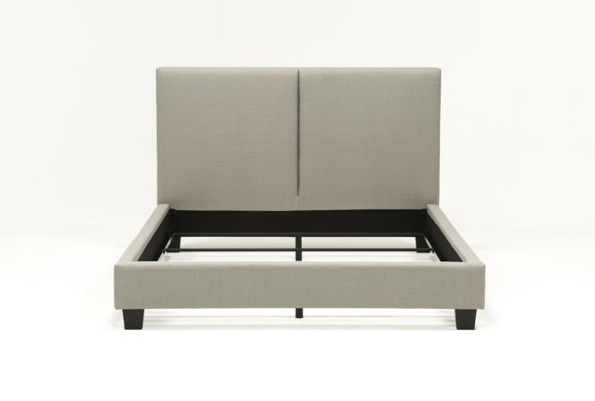 Rylee Queen Upholstered Panel Bed - 360