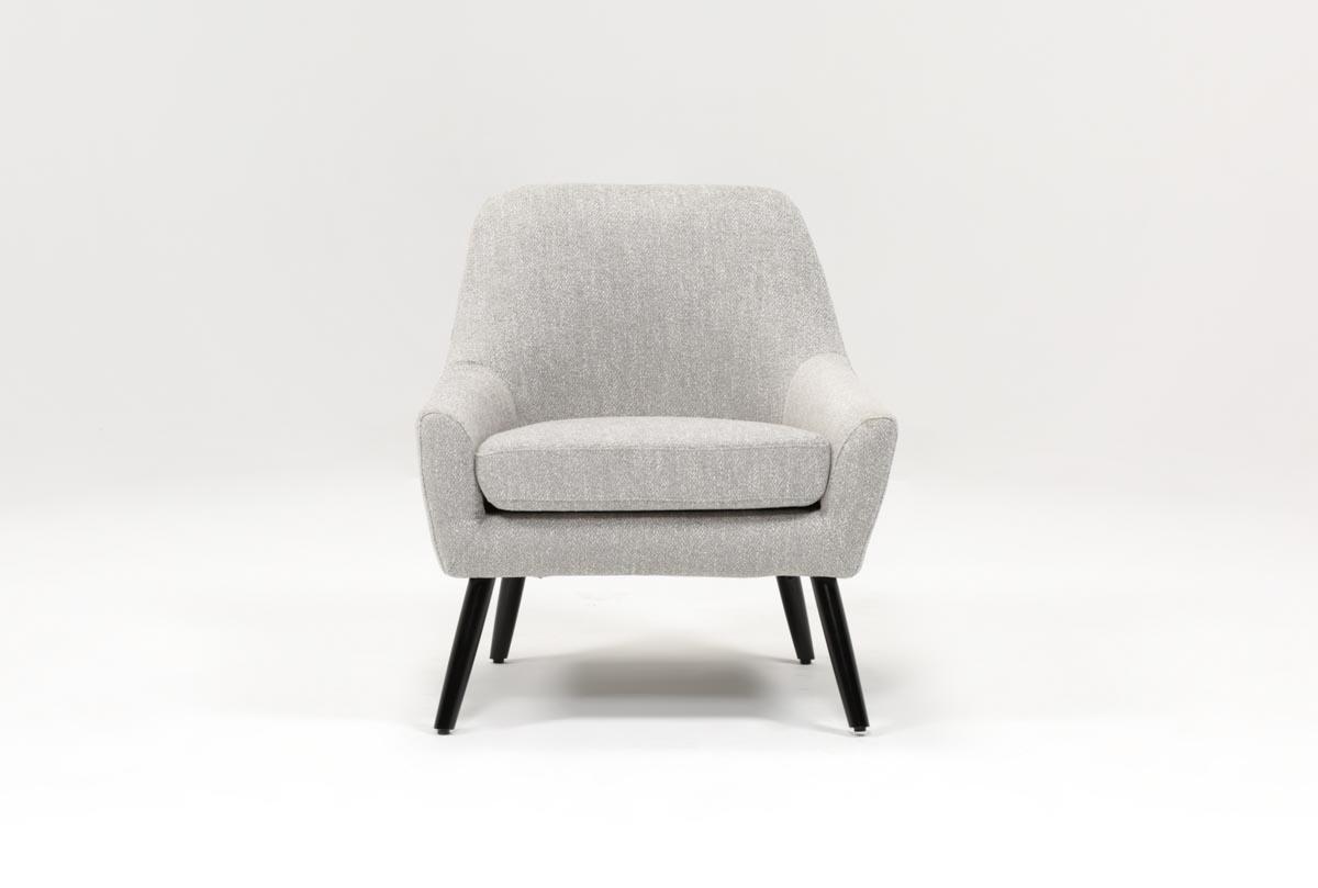 Celeste Light Grey Accent Chair   360