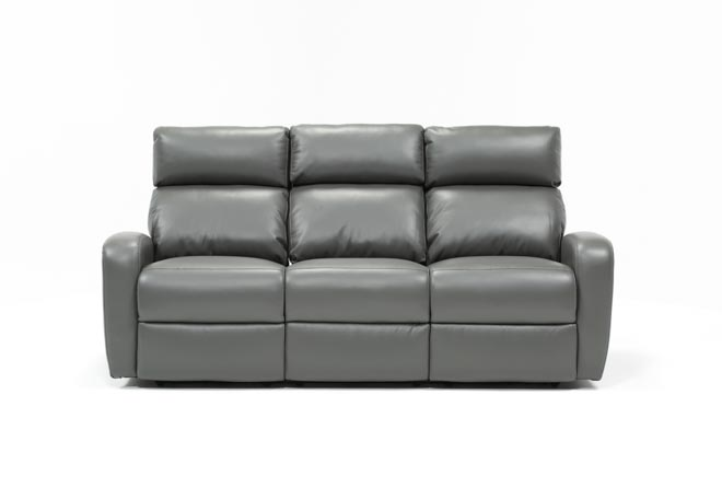 Darwin Graphite Power Reclining Sofa - 360