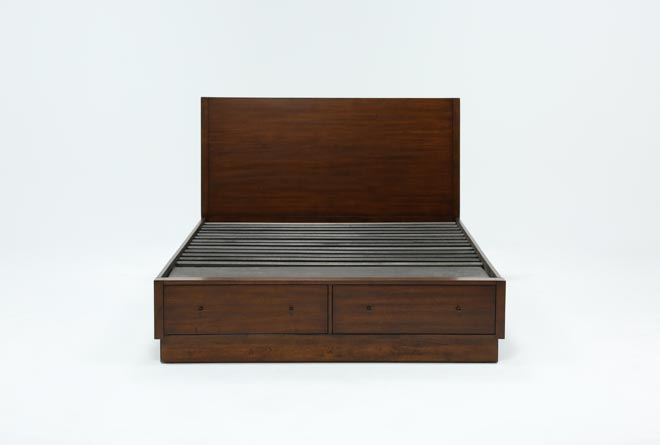 Maverick Queen Panel Bed W/Storage - 360