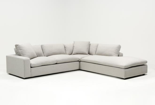 Haven 3 Piece Sectional With Right Arm Facing Bumper
