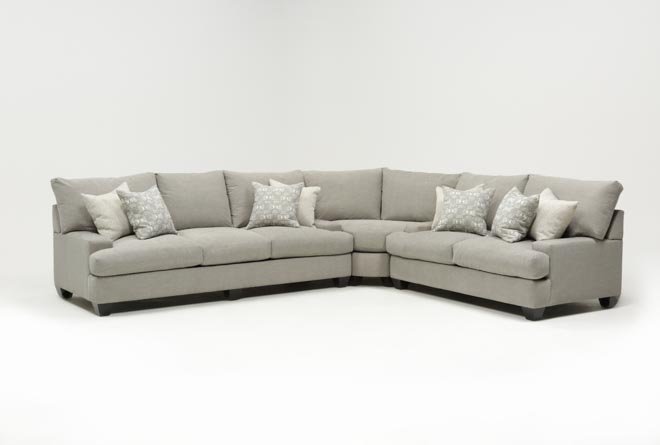 Harper Down 3 Piece Sectional - 360