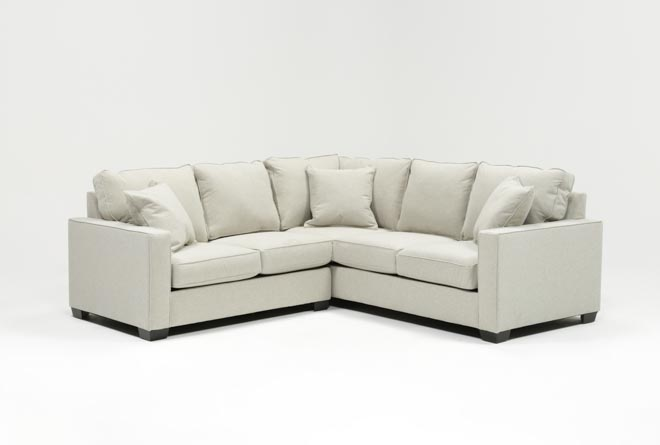 Raphael II Flax 2 Piece Sectionalw/Laf Loveseat - 360