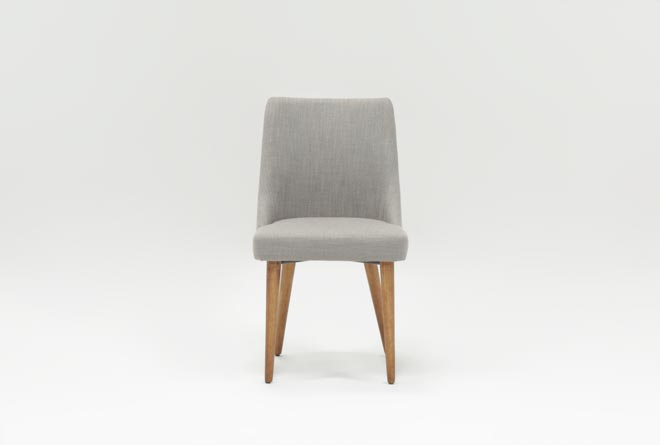 Moda Grey Side Chair - 360