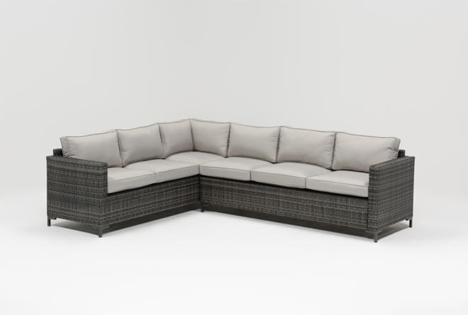 Outdoor Domingo Banquette Sectional - 360