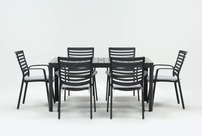Outdoor Andaz 7 Piece Dining Set - 360