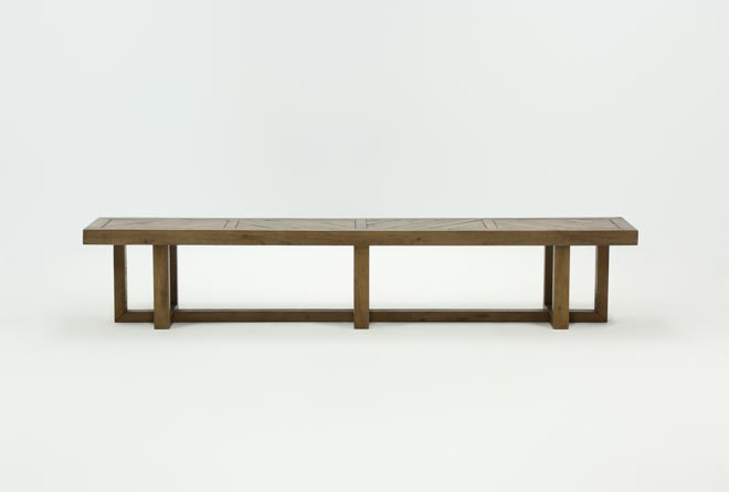Palazzo 98 Inch Bench - 360
