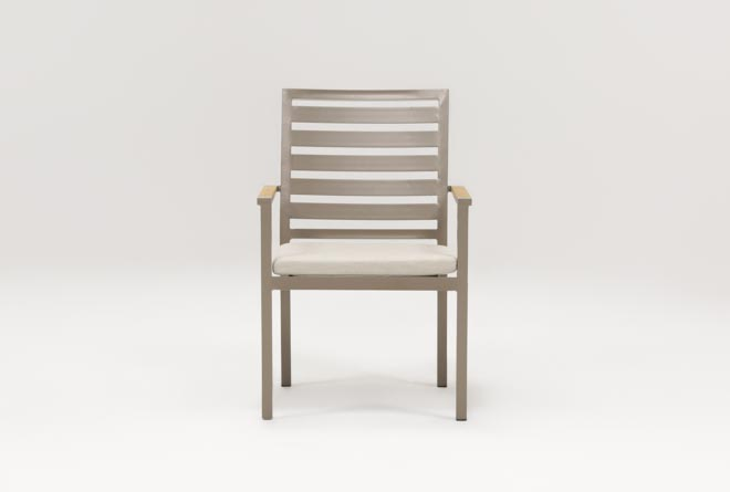 Outdoor Brasilia Teak Dining Chair - 360