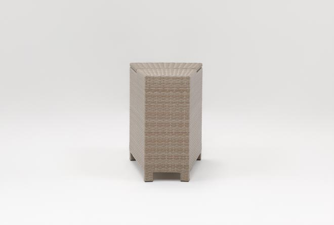 Outdoor Ibiza Storage End Table - 360
