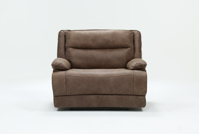 Garland Bark Cuddler Power Recliner With Power Headrest - 360