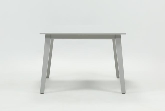 Mandy Dove Grey Square Dining Table - 360