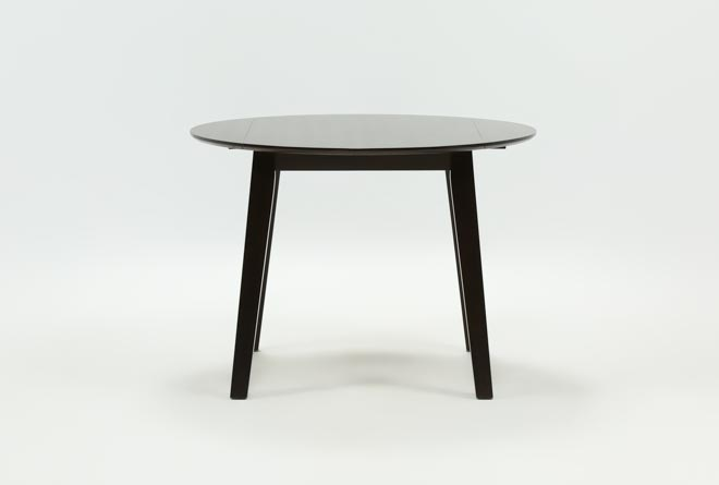 Moxy Espresso Round Dining Table - 360