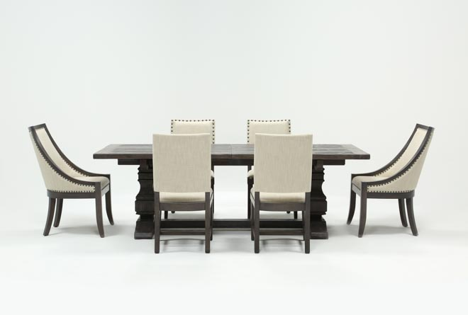 Norwood 7 Piece Rectangle Extension Dining Set - 360