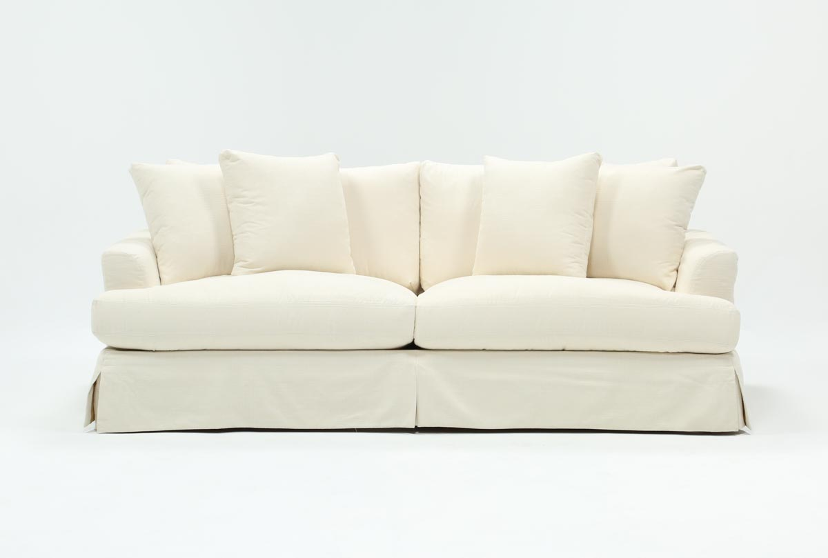 Solano Slipcovered Sofa   360