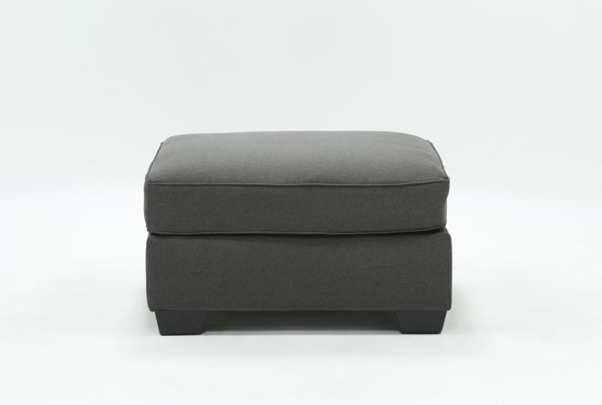 Mcdade Graphite Oversized Accent Ottoman - 360