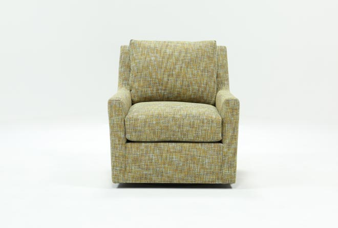 Tristan Swivel Accent Chair - 360