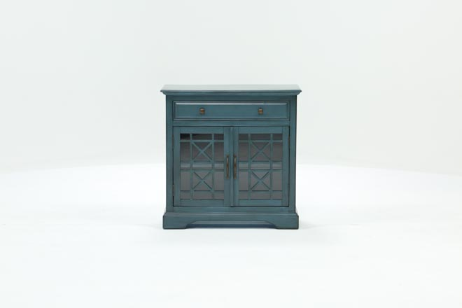 Annabelle Blue Accent Chest - 360
