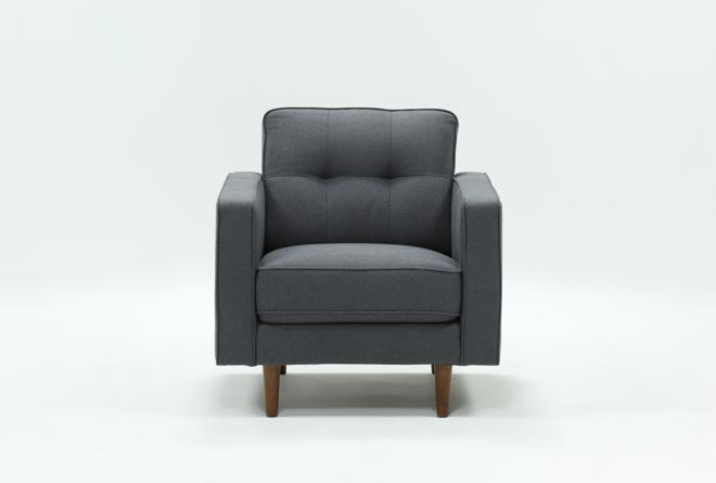 London Dark Grey Chair - 360