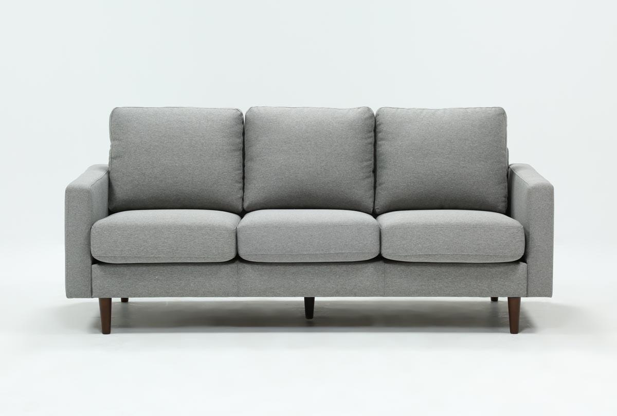David Grey Sofa   360