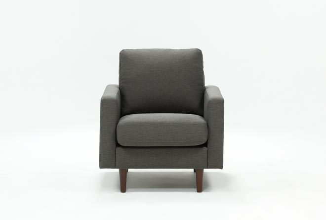 David Dark Grey Chair - 360