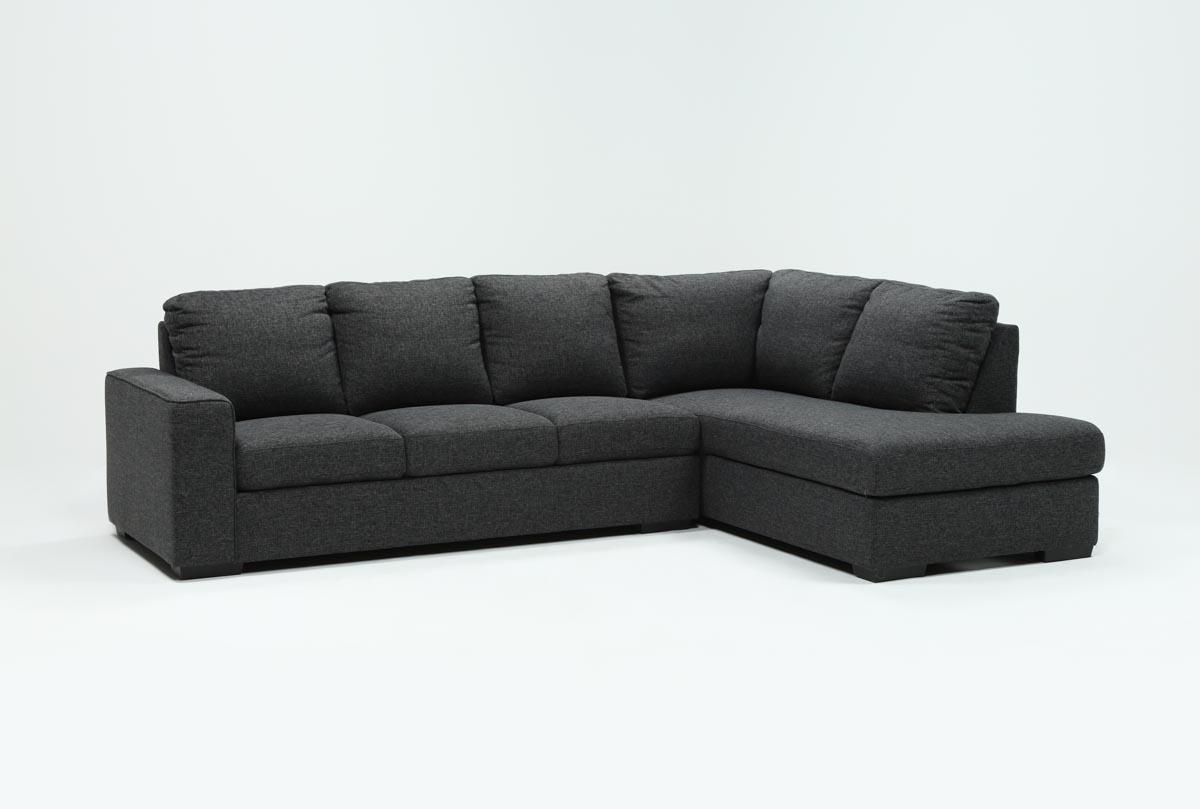 Living Spaces Sectional Sleeper Desainrumahkeren Com