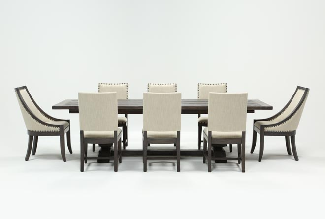 Norwood 9 Piece Rectangle Extension Dining Set - 360