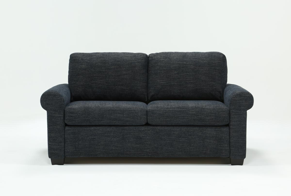 Alexis Denim Full Sofa Sleeper Living Spaces