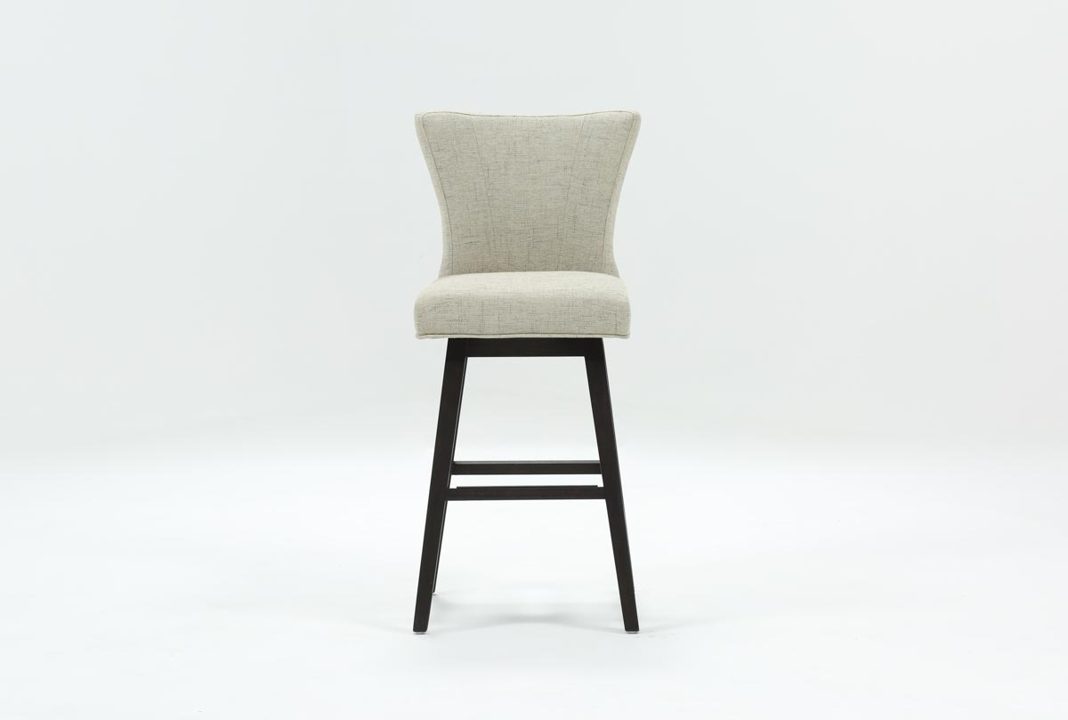 Alinea Swivel 30 Inch Barstool Living Spaces
