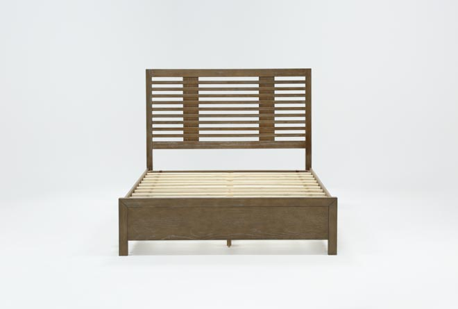 Kevin Queen Panel Bed - 360